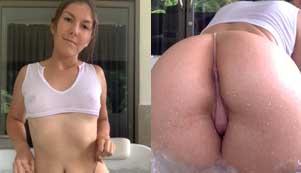 Sanya Booty Hot Bath